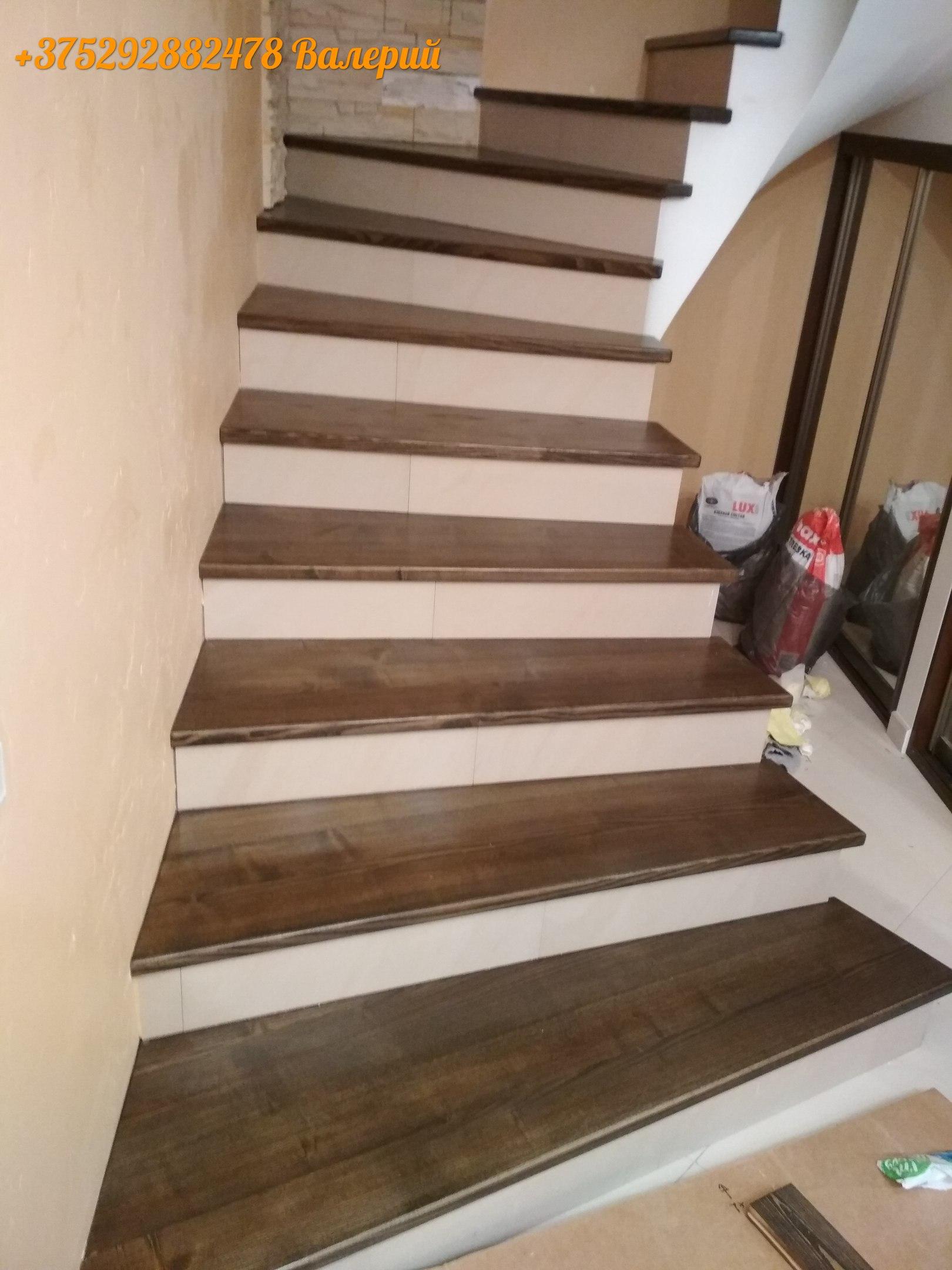 лестница  лакировка