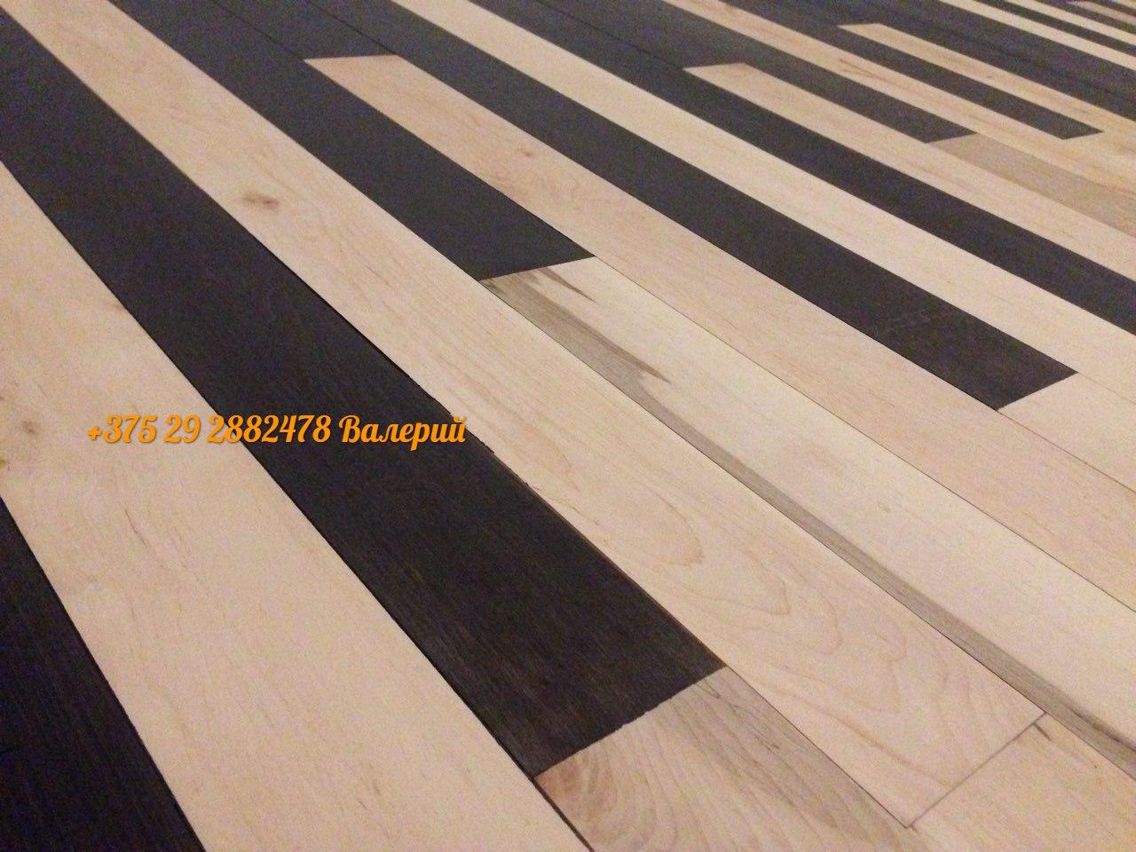 необычный деревянный пол