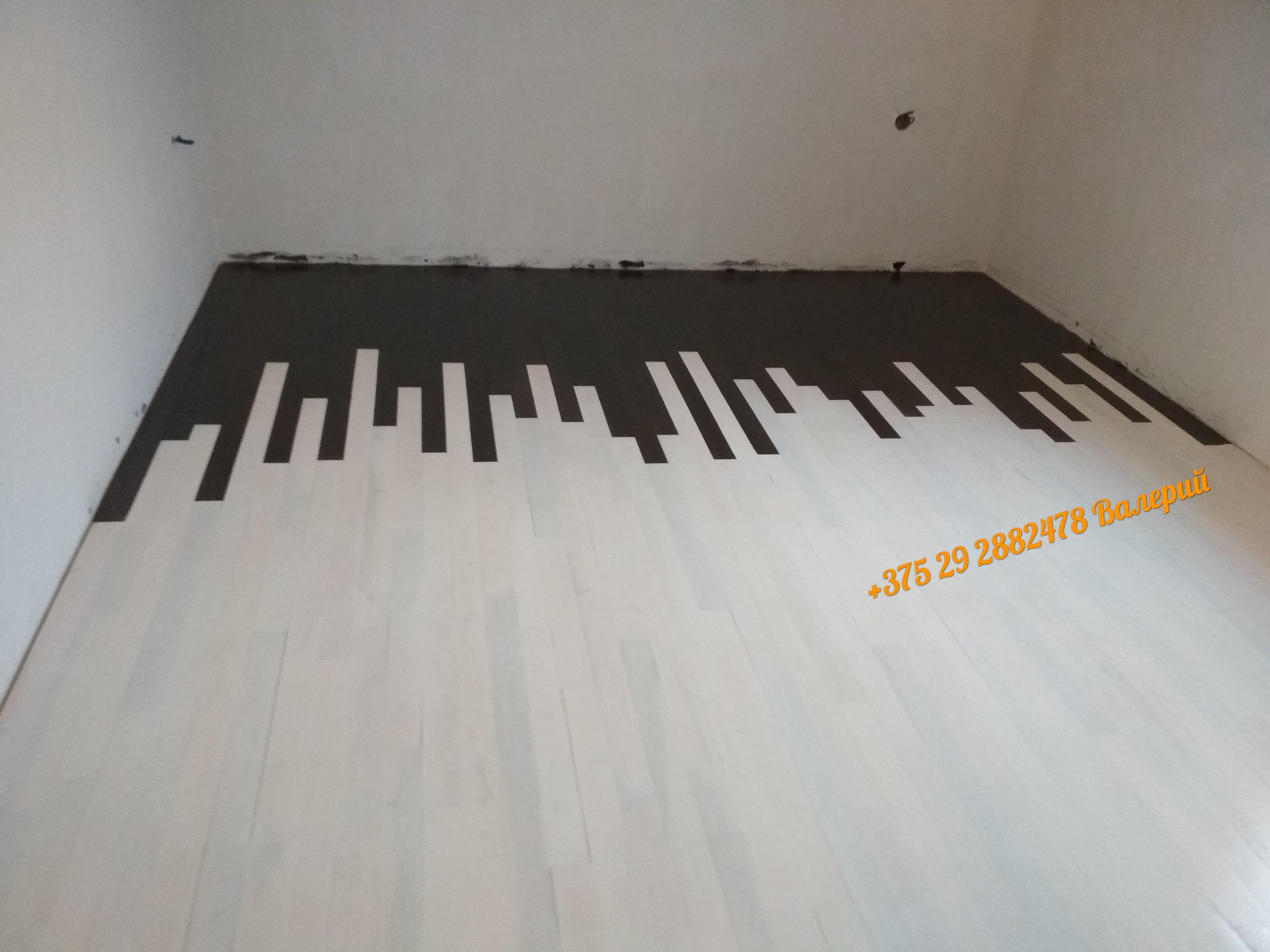 необычный пол деревянный