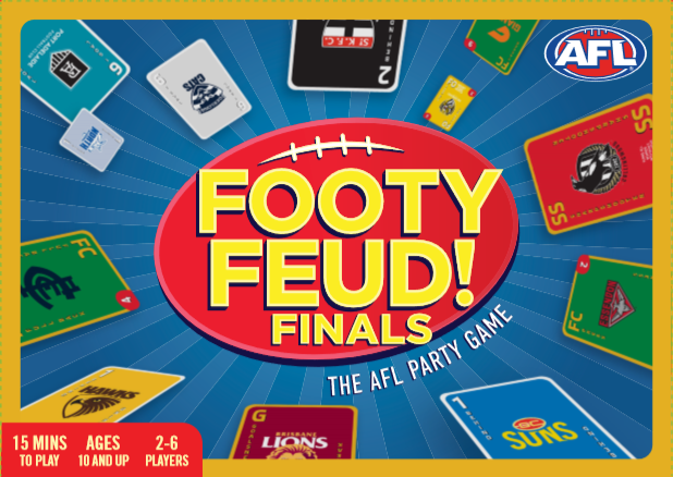 FOOTY FEUD! FINALS: THE AFL PARTY GAME, with FREE shipping