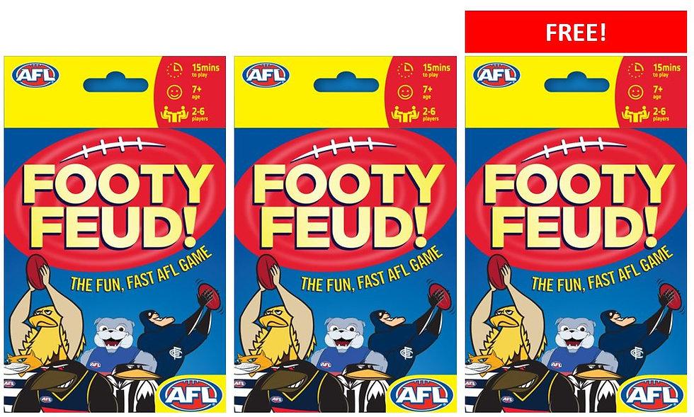 Footy Feud!- BUY 2 GET 1 FREE! SPECIAL