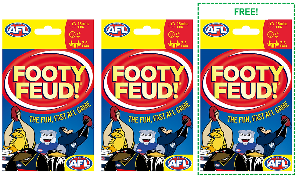 Footy Feud!- BUY 2 GET 1 FREE! SPECIAL