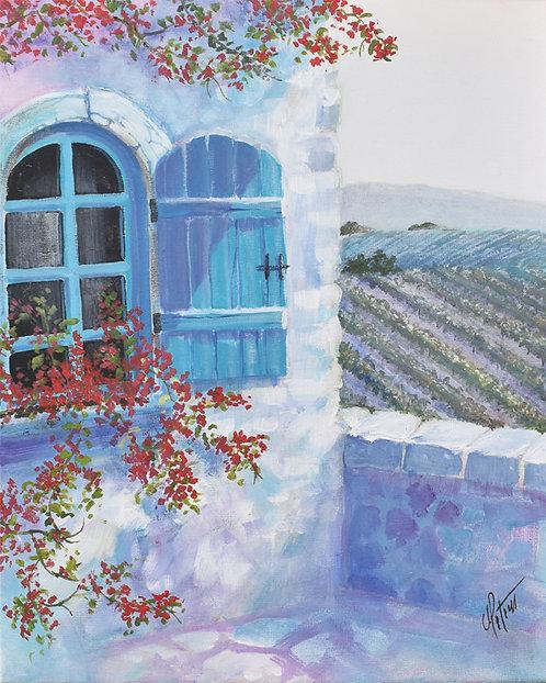 Blue Dream Window