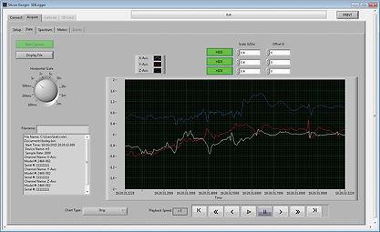 G-Logger Data Stream