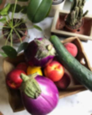 Trop belles ces aubergines 🍆 je ne rési