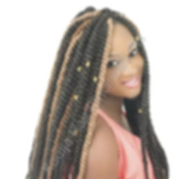 Box Braids or Senegalese Twists African Hair Braiding Cincinnati by Kadija Hair Braiding