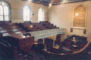 Inside Wesley Chapel