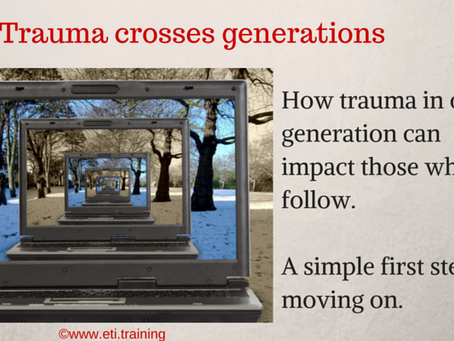 Take this Step in Response to Transgenerational Trauma
