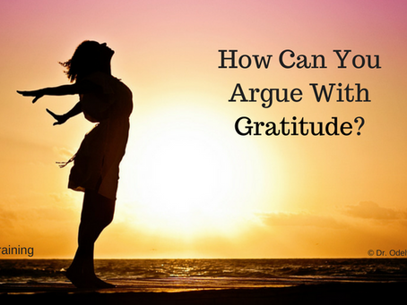 How Can You Argue With Gratitude?