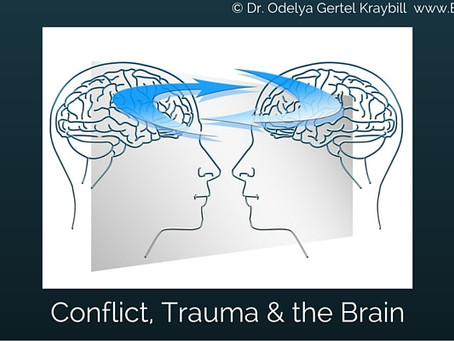 Israeli-Palestinian Conflict, Trauma and the Brain