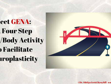 G.E.N.A. Four Step Mind/Body Activity Facilitates Neuroplasticity