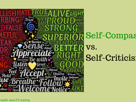 Self-Compassion vs. Self-Criticism