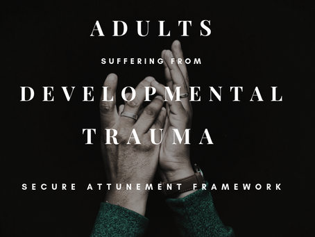 Adults Suffering from Developmental Trauma