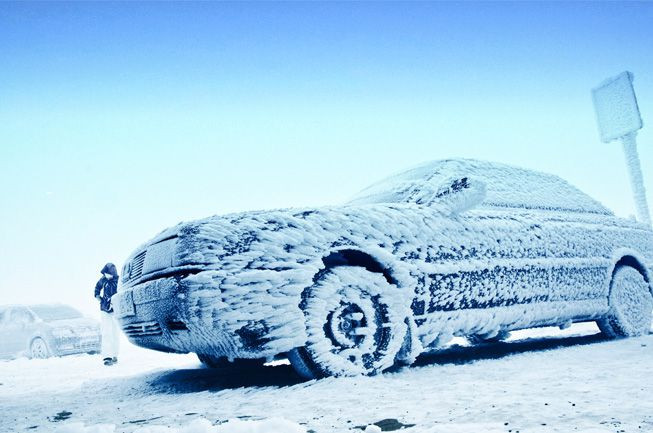 Frozen Car Dent Repair MN