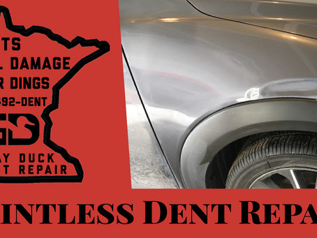 Lease Return Paintless Dent Repair