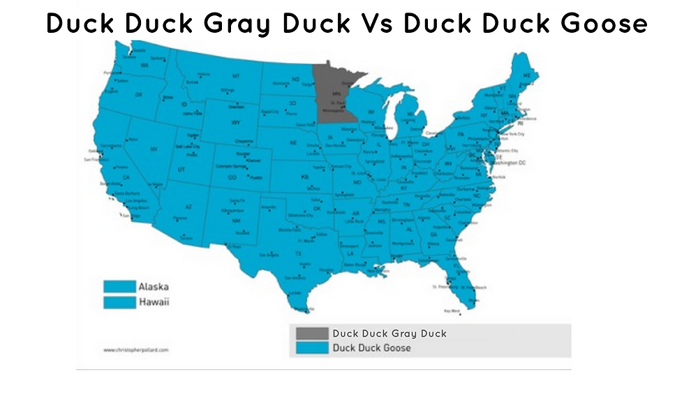 Gray Duck Map MN