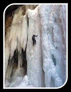 Kletterdome Winter - Eisklettern