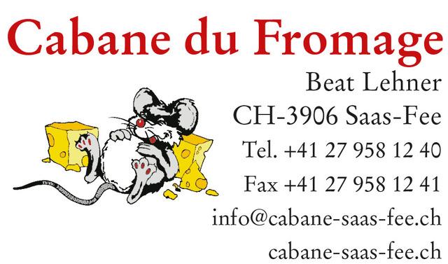 Cabane du Fromage