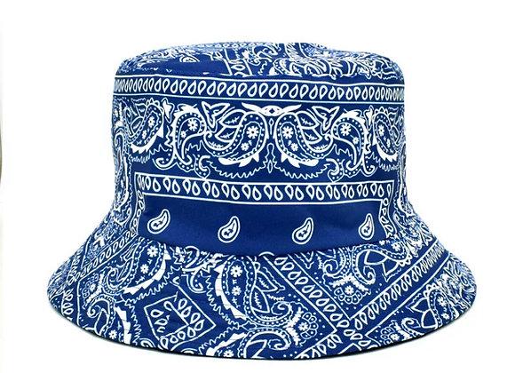 Blue Bandana Bucket
