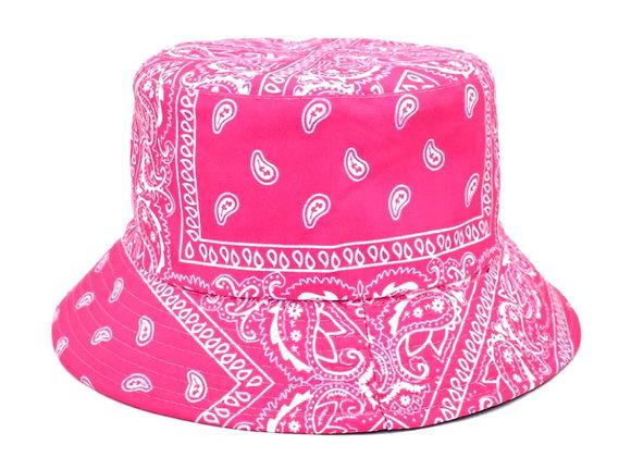 Pink Bandana Bucket