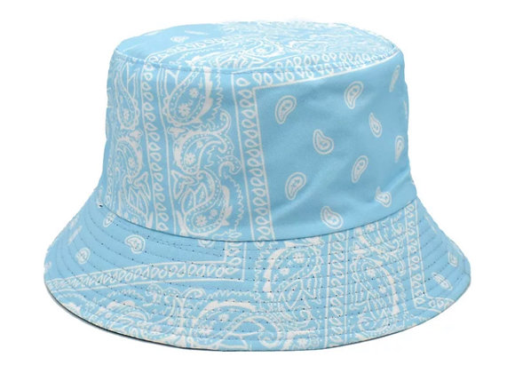 Sky Blue Bandana Bucket