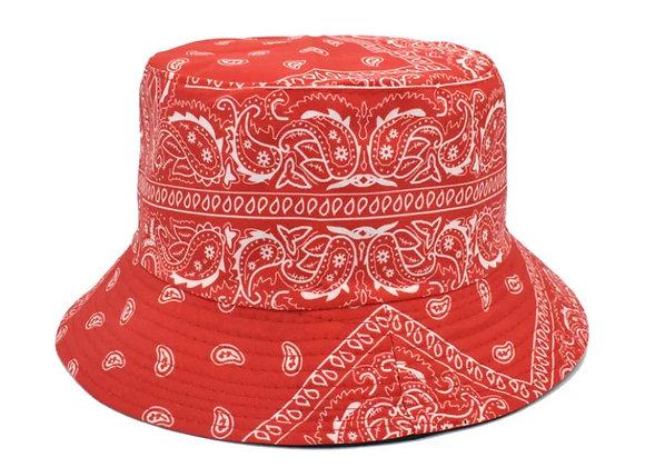 Red Bandana Bucket