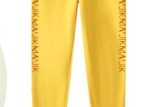 Yellow Ma'Jik Joggers