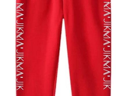 Red Ma'Jik Joggers