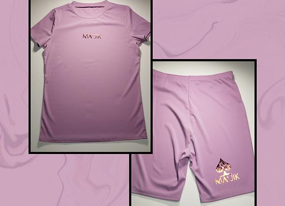 Lavender Short Set