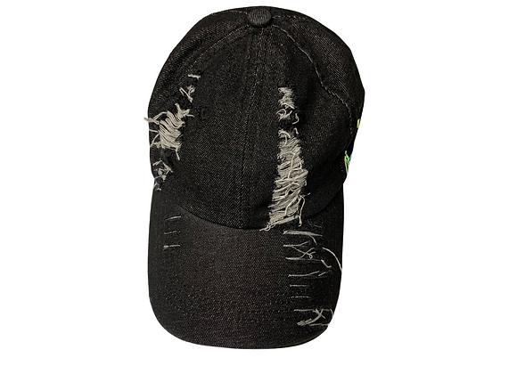 Black Jean Baseball Hat