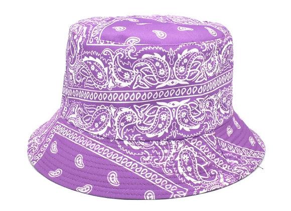 Purple Bandana Bucket