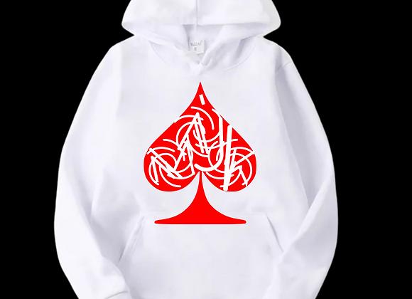 """Love Thy Logo"" White Hoodie"