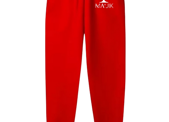 """""""Love Thy Logo"""" Red Joggers"""
