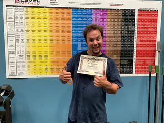 Iron Haven Fitness Ashland Oregon Level Method Certificates
