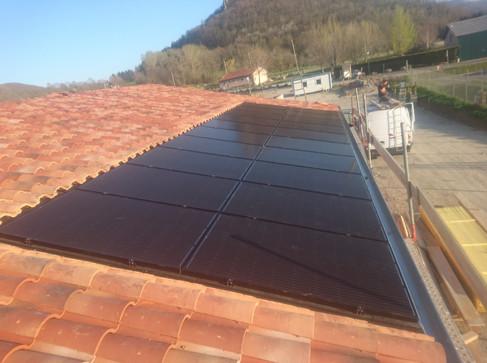 Photovoltaïque 6kWc - Intégration au bâti