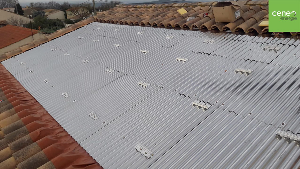 Reprise de toiture InterSole