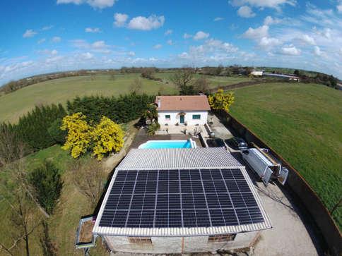 Installation photovoltaïque 7.56kWc