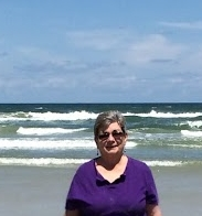 carol at beach