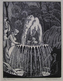 Alice M Coats,                     The Fountain
