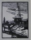 Alice M Coats, Windmill at Rye