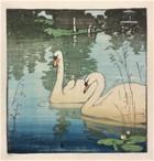 Allen W Seaby, Two Swans