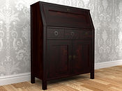 Balmoral Chestnut 3 Drawer Bureau.jpg