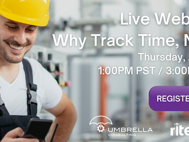riteSOFT Webinar: Why Track Time Now?
