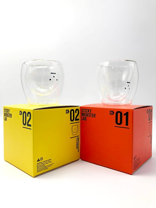 Sticky Monster Lab Double Layer Glass Set