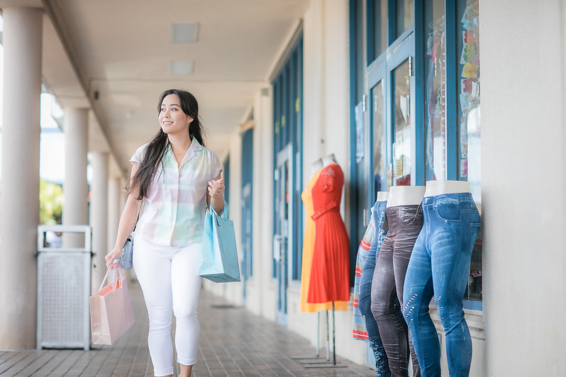 Shopping at Compadres Mall Guam