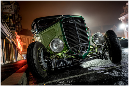 Ambiance Walking Dead, Hot Rod Ford