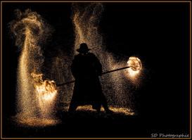 flammes et étincelles