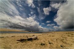Bassin d'Arcachon, vue sur la Dune du Pilat