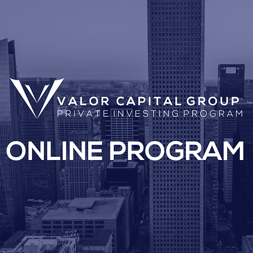Private Investing Online Program