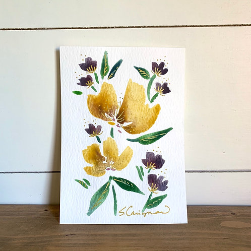 """5x7"""" Mother's Day Floral, no.4"""